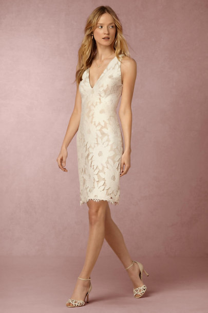 Yoana Baraschi Ivory/Natural Dane Dress | BHLDN