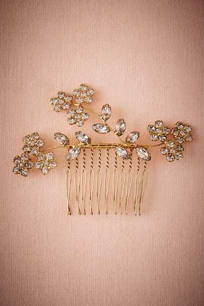 Jennifer Behr Gold Lilya Comb | BHLDN