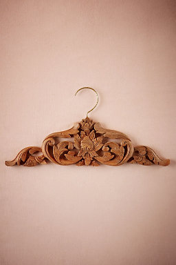 Kirana Carved Wooden Hanger
