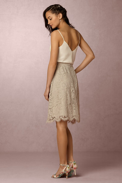 Jenny Yoo Harbor Mist Lydia Lace Skirt | BHLDN