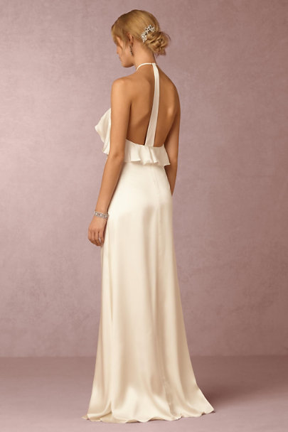 Jill Jill Stuart Ivory Cressida Dress | BHLDN