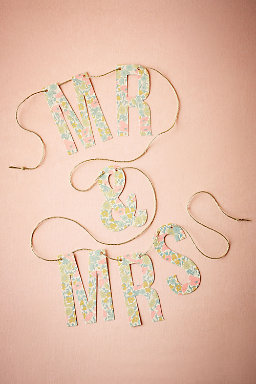 Liberty London Newlywed Garland