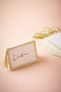 Liberty London Place Cards (10)