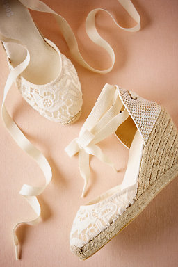 Judith Lace Wedge