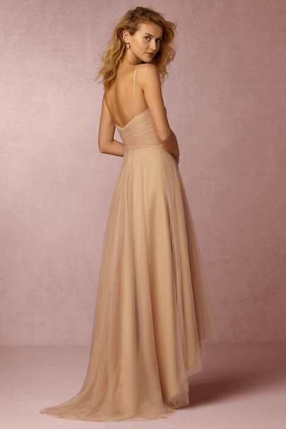 Monique Lhuillier Bridesmaids Bamboo Brinkley Dress | BHLDN