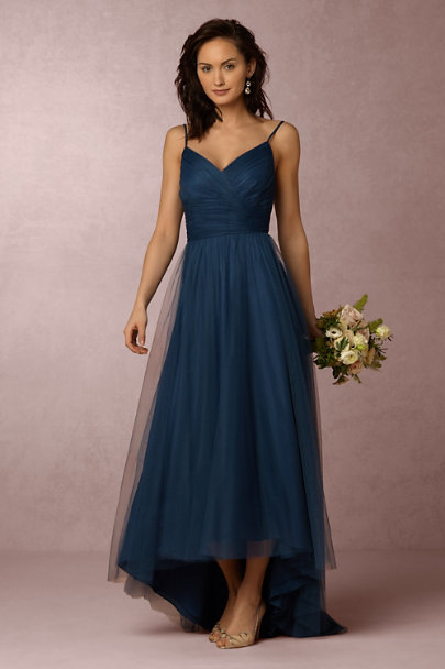 Monique Lhuillier Bridesmaids Lapis Brinkley Dress | BHLDN