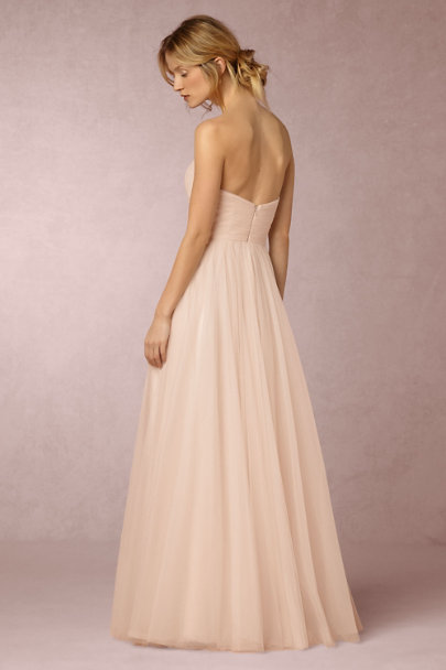 Watters Porcelain Pink Calla Gown | BHLDN