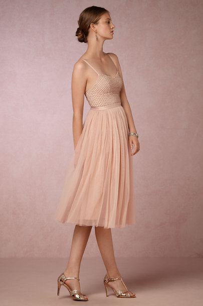 Rose Gold Lucia T-Straps | BHLDN