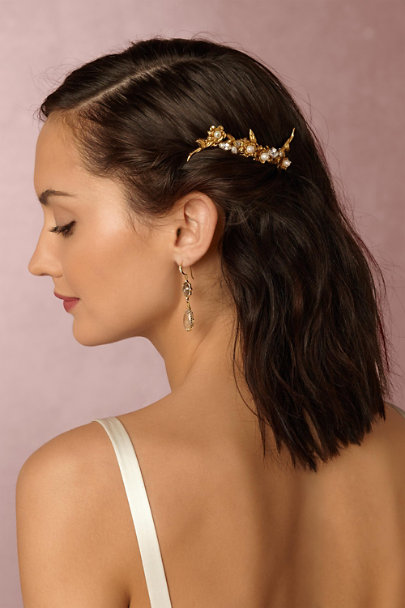 Grace Chan Gold Imelda Drop Earrings | BHLDN