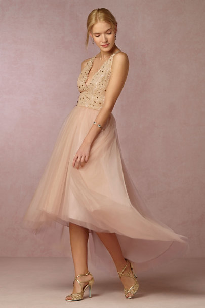James Coviello Blush Marcella Dress | BHLDN