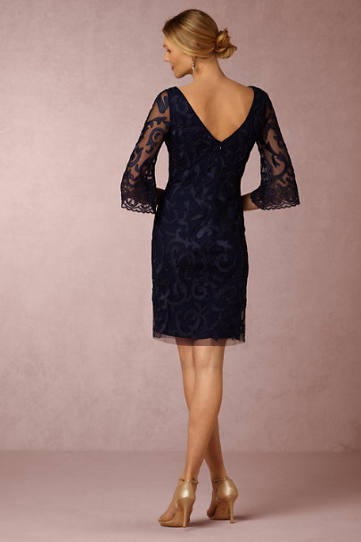 Aidan Mattox Navy Delaney Dress | BHLDN