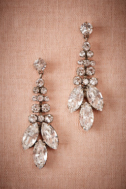 Trevelez Crystal Drop Earrings