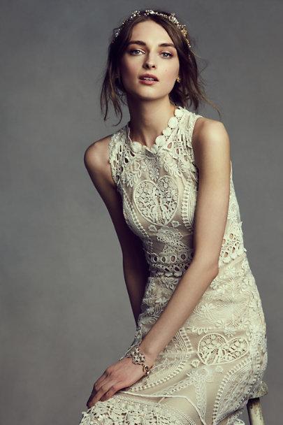 Matilde crochet bracelet in sale bhldn for Crochet wedding dresses for sale