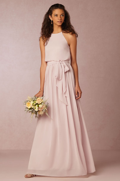 Donna Morgan Palest Pink Alana Dress | BHLDN
