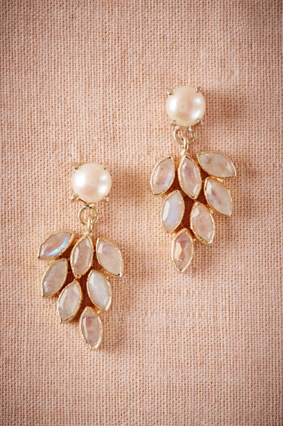 Atelier Mon Gold Tiare Chandelier Earrings | BHLDN