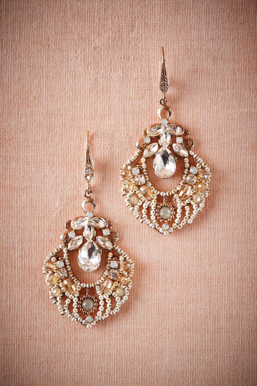 Agata Chandelier Earrings