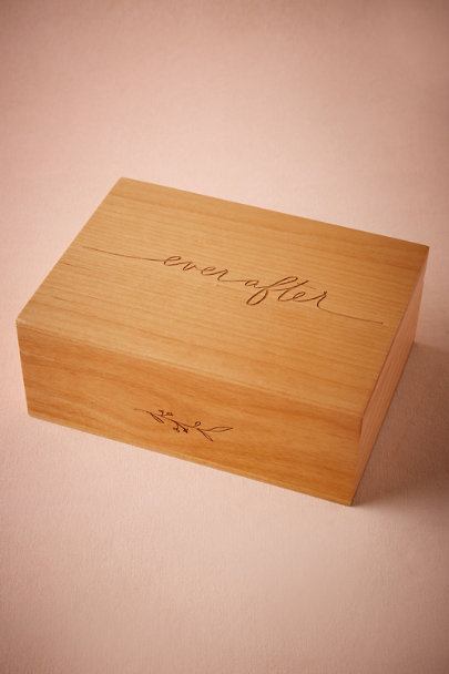 Ever After Etched Momento Box | BHLDN
