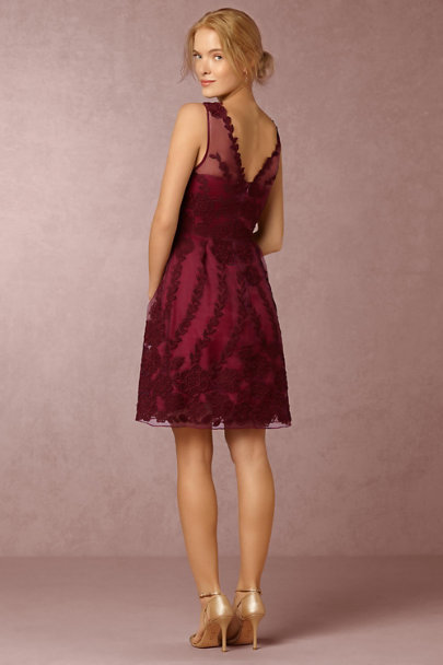 Yoana Baraschi Black Cherry Ersalina Dress | BHLDN