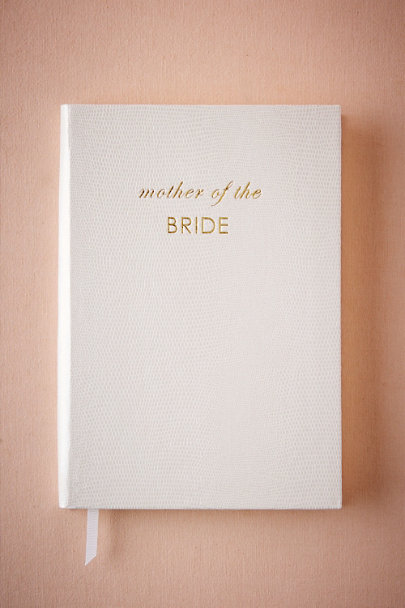 White Mother of the Bride Journal | BHLDN