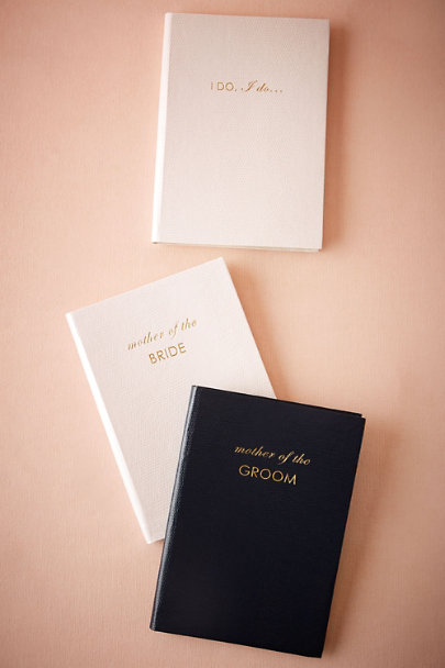 Navy Mother of the Groom Journal | BHLDN
