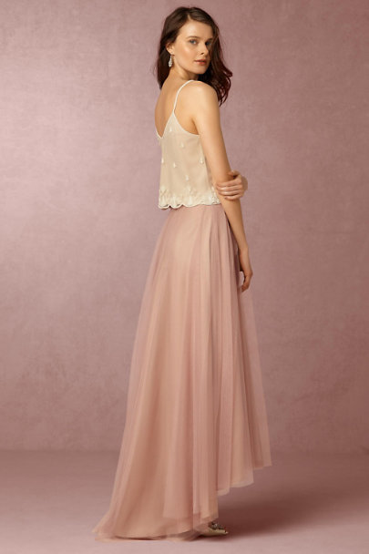 Moyna Ivory/Champagne Carrie Top | BHLDN