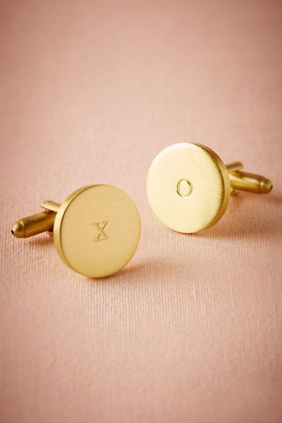 Bronze XO Cufflinks | BHLDN