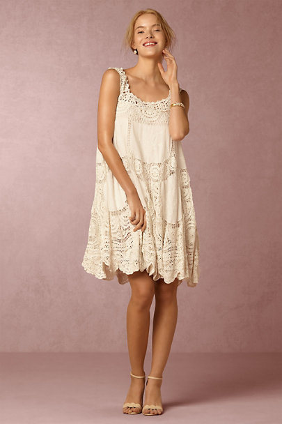 Love Sam Ivory Taya Dress | BHLDN