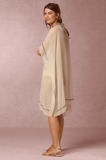 6 Shore Road Ivory Majorelle Kaftan | BHLDN