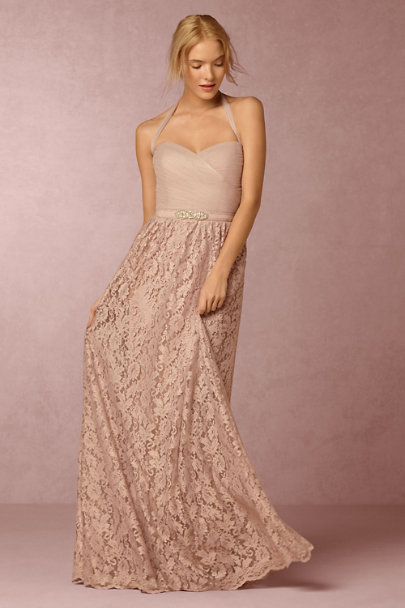 Watters Blush Cambria Skirt | BHLDN