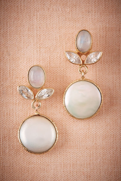 Atelier Mon Gold Eclipse Earrings | BHLDN