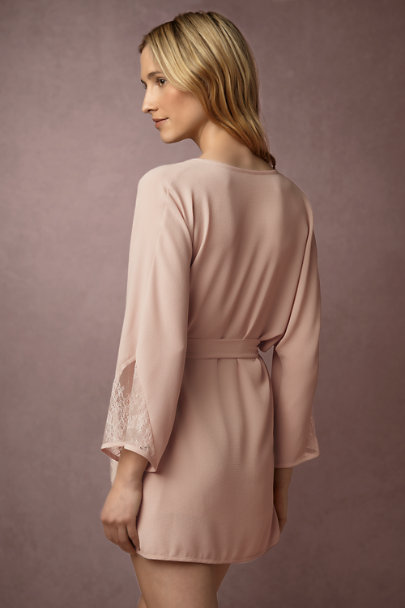 Only Hearts Rose Violetta Robe | BHLDN