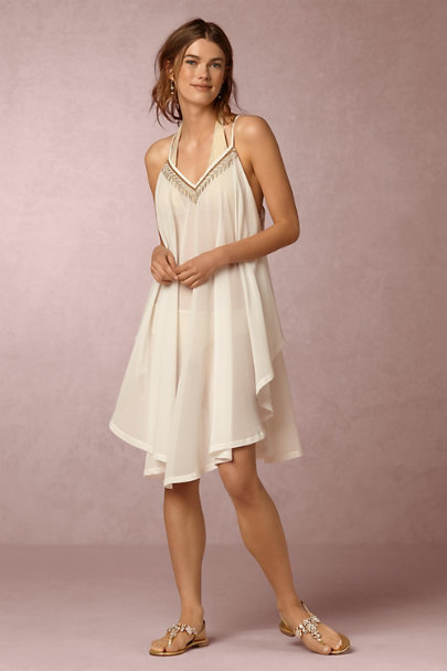 6 Shore Road White Mallorca Tunic | BHLDN