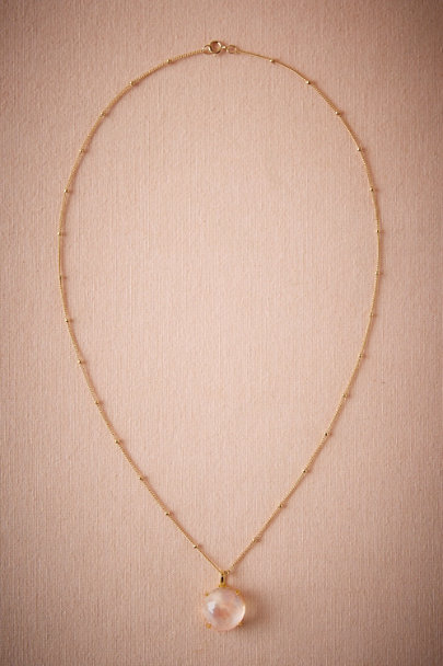Heather Hawkins Gold Tarynth Necklace | BHLDN