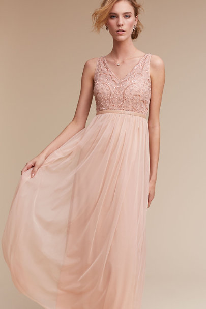 Moyna Nude Passerelle Fitted Belt | BHLDN