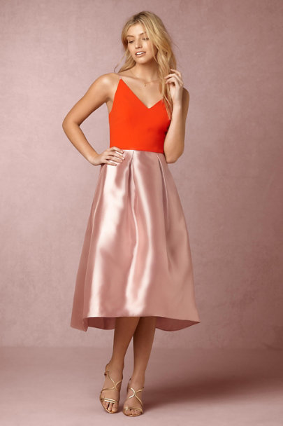 Kay Unger Flame/Light Mauve Romy Dress | BHLDN