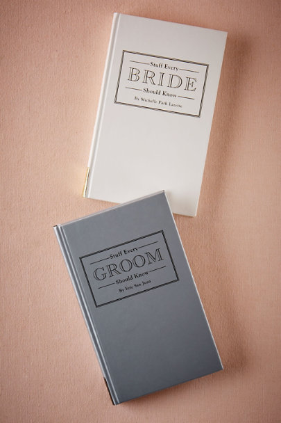 Groom Stuff Every Bride & Groom Should Know | BHLDN