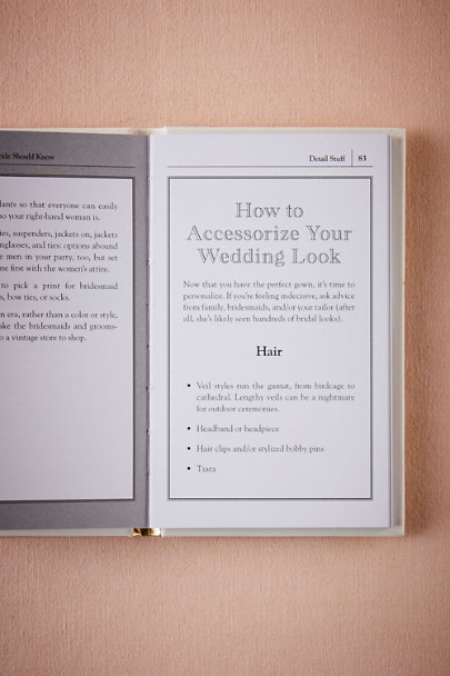 Bride Stuff Every Bride & Groom Should Know | BHLDN