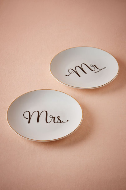 Mrs Penscript Plate | BHLDN