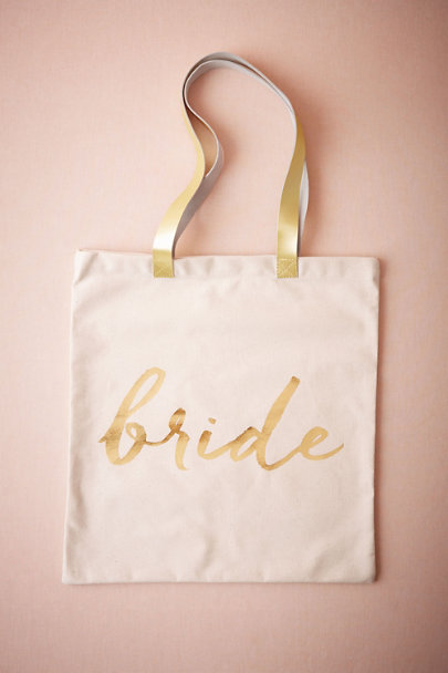 Bride Scripted Tote | BHLDN