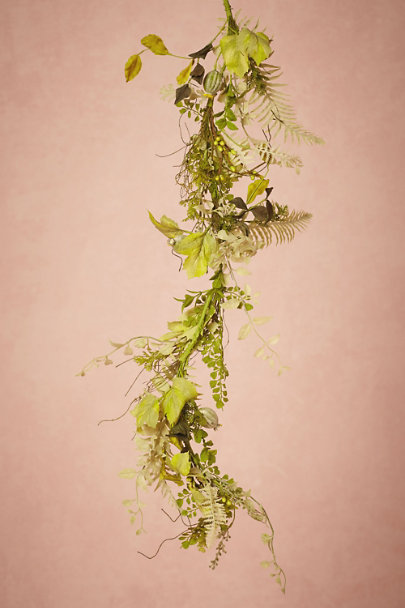 Green Foraged Garland | BHLDN