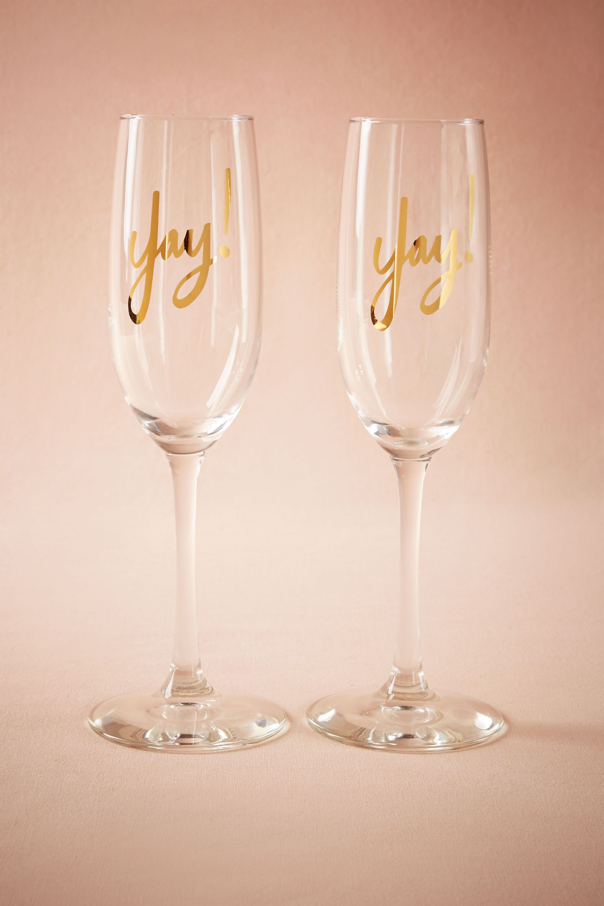 Yay! Champagne Flutes (2)