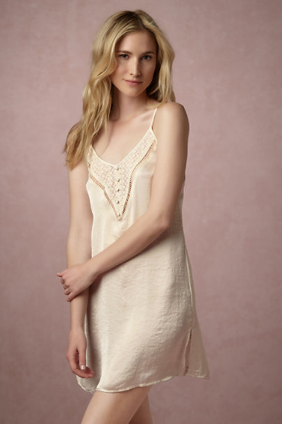 Band of Gypsies Creme Laurelle Chemise | BHLDN