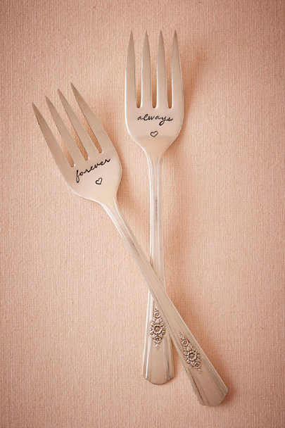 Silver Evermore Forks (2) | BHLDN