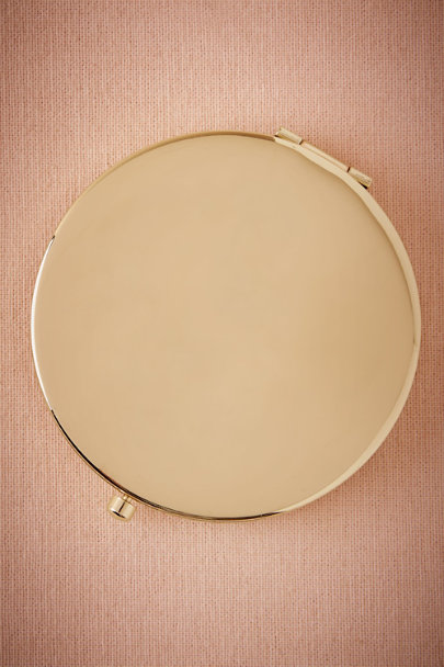 Gold Gold Compact Mirror | BHLDN