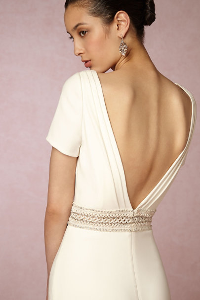 Badgley Mischka Ivory Alice Gown | BHLDN
