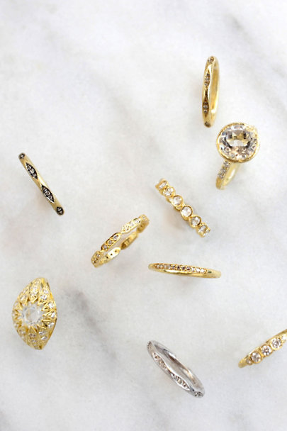 ILA Yellow Gold Noe Ring  | BHLDN