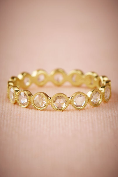 ILA Yellow Gold Raja Ring | BHLDN