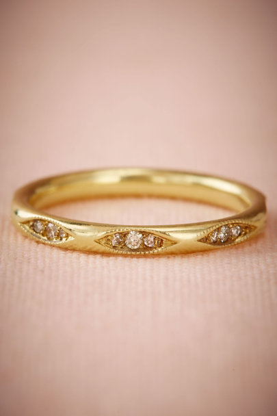 ILA Yellow Gold Flannery Ring  | BHLDN