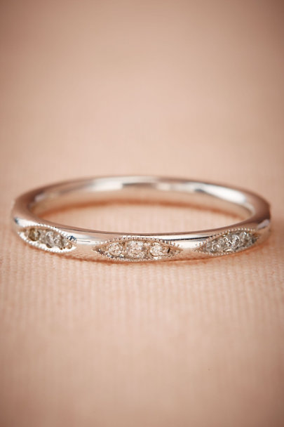 ILA White Gold Fia Ring  | BHLDN