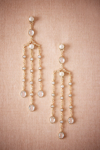 Atelier Mon Gold Galina Chandelier Earrings | BHLDN